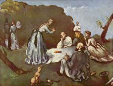 Kırda Öğle Yemeği, 1869