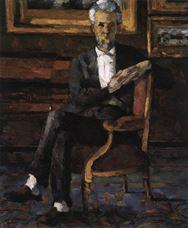 Victor Chocquet'nin Sandalye Üzerinde Portresi, 1877
