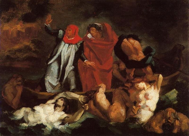 Picture for The Barque of Dante (after Delacroix ), c. 1870
