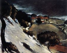 Show Snow Thaw in L'Estaque, c. 1879 details