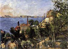 Estaque'da Deniz, 1876