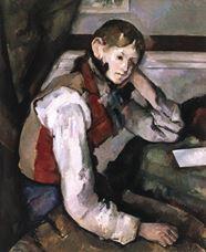 Kırmızı Yelekli Çocuk, 1888-1890 dolayları