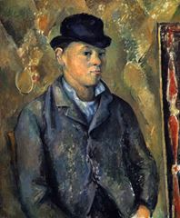 Oğlu Paul Cézanne'ın Portresi, 1885-1890, Tuval üzerine yağlıboya, 65.3 x 54 cm, National Gallery of Art, Washington, ABD.