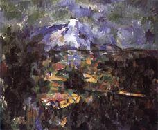 Lauves Yolu'ndan Sainte-Victorire Dağı, 1904-1906
