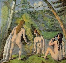 Yıkanan Üç Kadın, 1879-1882