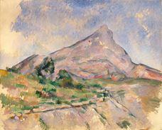 Show Mont Sainte-Victoire, c. 1897-1898 details