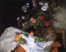 Çiçek ve Meyveli Natürmort, 1890