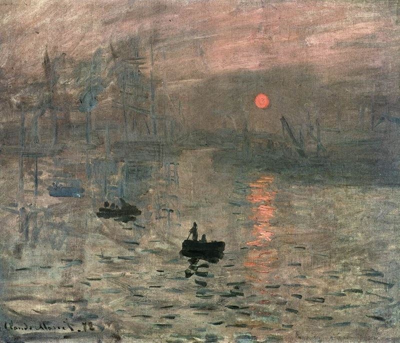 Picture for  Impression, Sunrise - Claude Monet