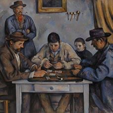 Picture for  The Card Players - Paul Cézanne