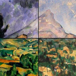 Picture of Sainte-Victoire Dağı - Paul Cézanne