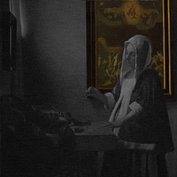 Terazi Tutan Kadın, 1664 dolayları picture