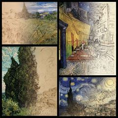 Drawings and Paintings - Vincent van Gogh picture