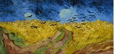 Show Wheatfield with Crows, 1890 details