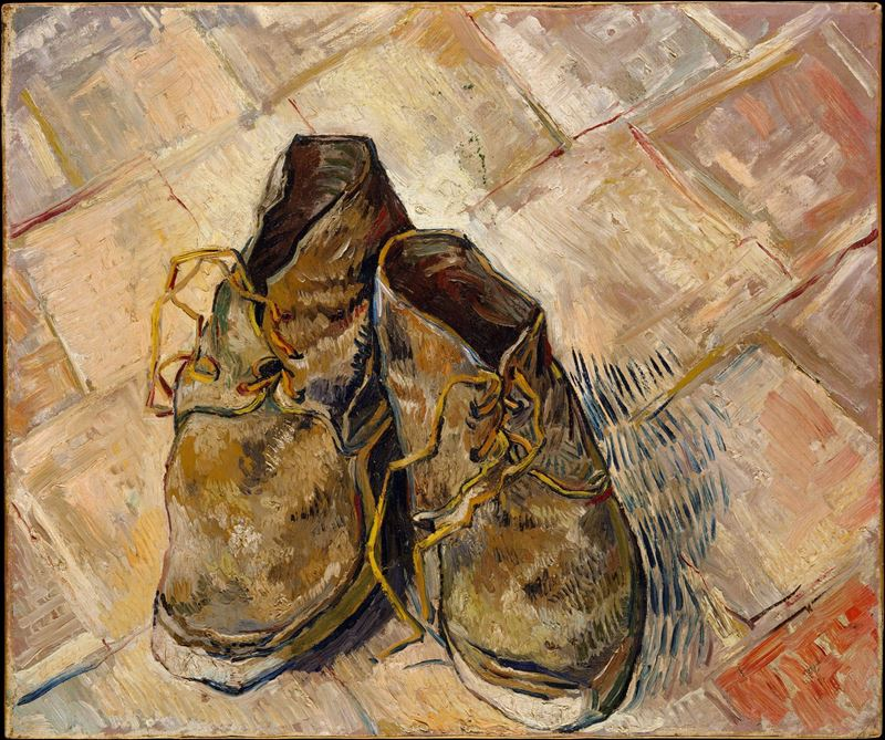 Picture for Shoes, 1888