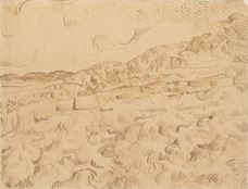 Show The Enclosed Wheatfield After a Storm, 1889 details