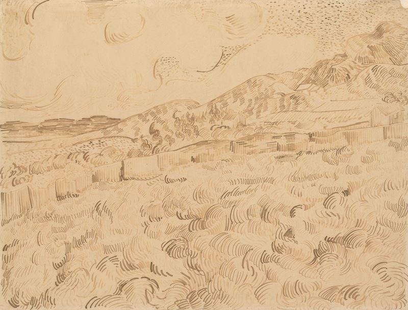 Fırtınadan Sonra Buğday Tarlası, 1889 resmi