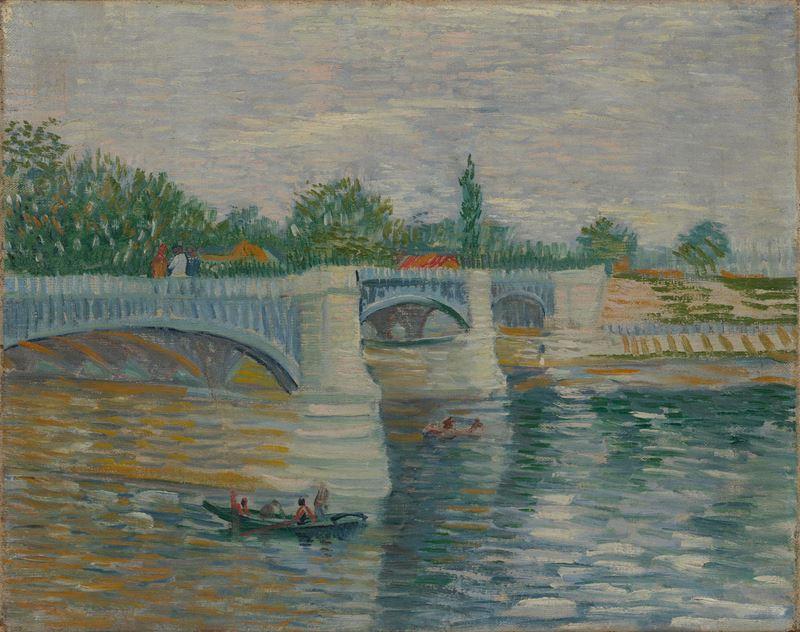Courbevoie'deki Köprü, 1887 resmi