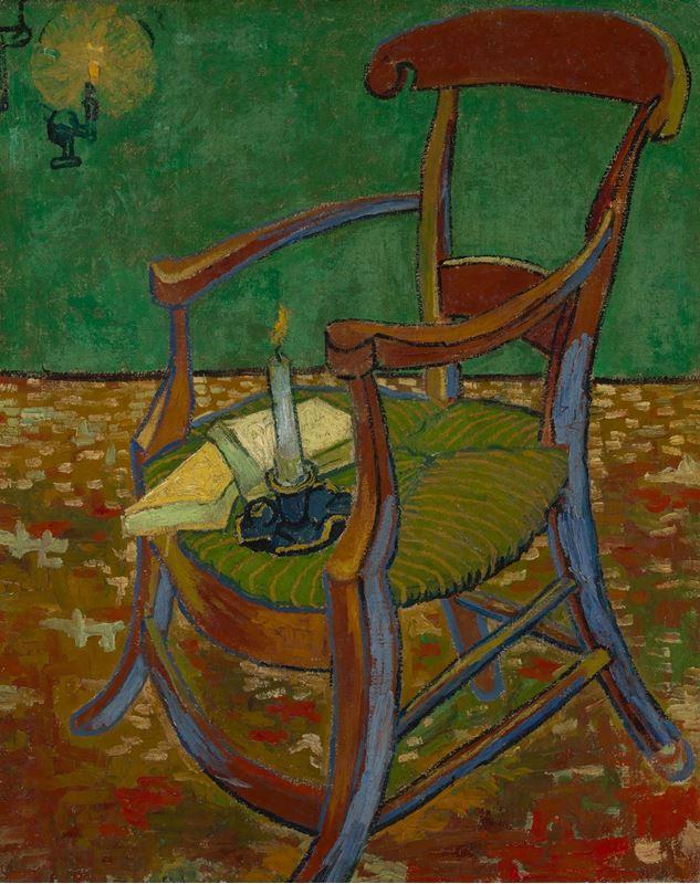 Gauguin'in Sandalyesi, 1888 resmi