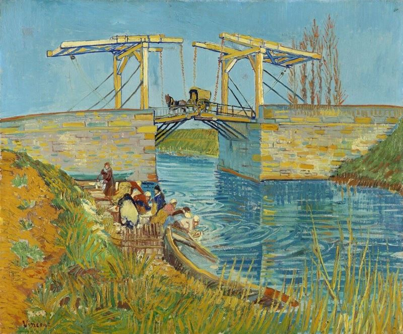 Picture for The Langlois Bridge at Arles, 1888