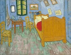 Van Gogh'un Arles'teki Yatak Odası, Saint-Rémy