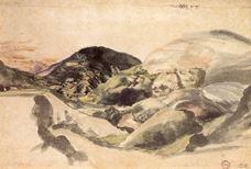 Alp Manzarası, 1494-1495