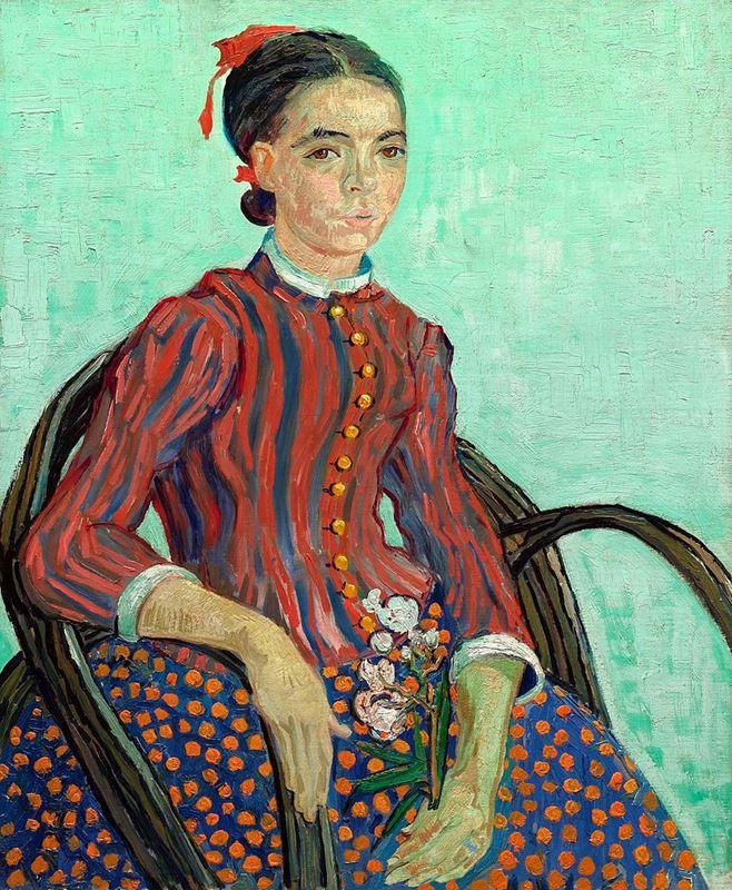 La Mousmé, 1888 resmi