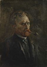 Show Self-Portrait, 1886 details