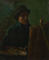 Show Self-Portrait as a Painter, 1886 details