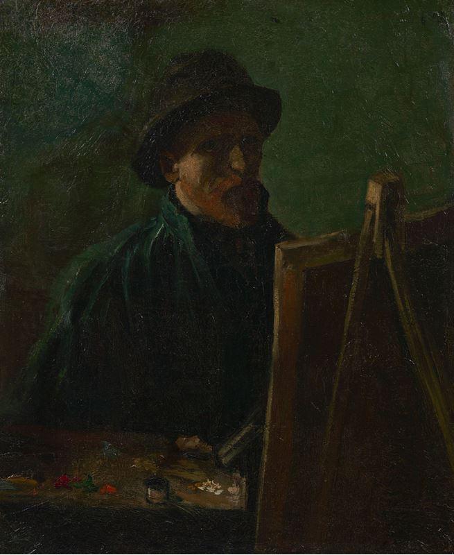 Ressam Olarak Otoportre, 1886 resmi