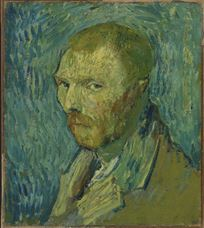 Show Self-Portrait, 1889-1890 details