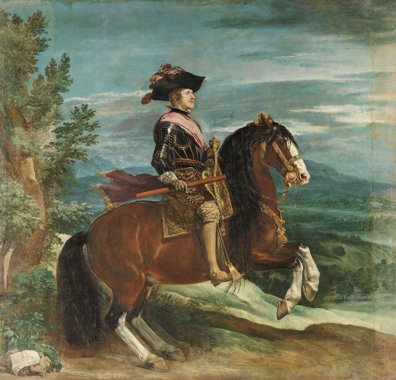 IV. Felipe At Sırtında, 1635 dolayları resmi