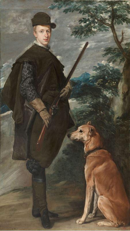 Kardinal Infante Don Fernando Av Giysileriyle, 1632-1634 resmi