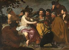 Show The Triumph of Bacchus, 1628-1629 details