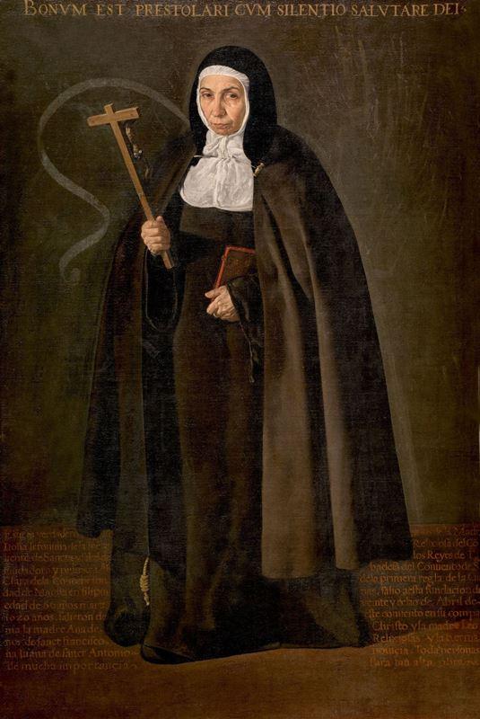Rahibe Jerónima de la Fuente, 1620 resmi