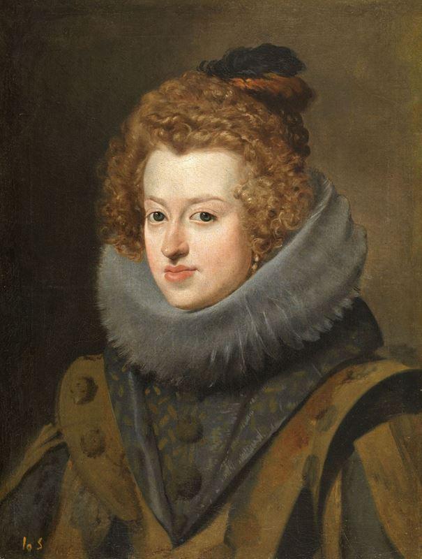 Macaristan Kraliçesi Infanta Doña María, 1630 dolayları resmi