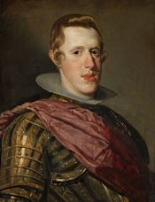 Show Portrait of Philip IV in Armour, 1626-1628 details