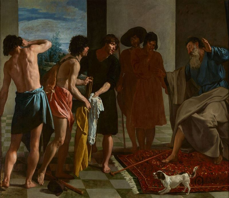 Yusuf'un Gömleği, 1629-1630 resmi