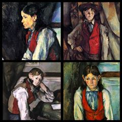 The Boy in the Red Vest - Paul Cézanne picture
