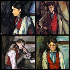 Kırmızı Yelekli Çocuk - Paul Cézanne picture
