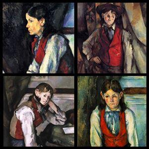 Picture of Paul Cézanne: Kırmızı Yelekli Çocuk