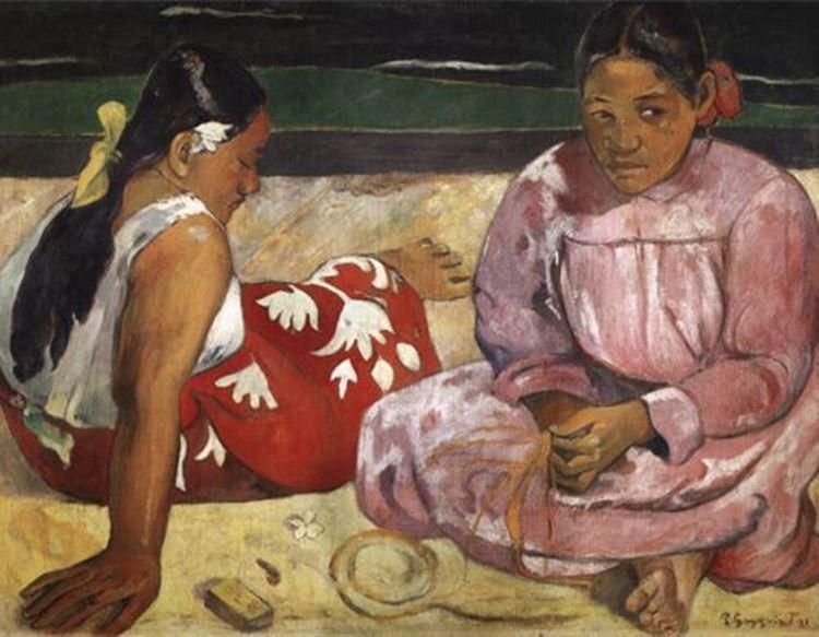 Tahitili Kadınlar, 1891 picture