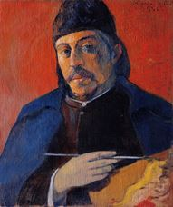 Show Self-Portrait with Palette, c. 1894 details