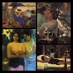 Pictures of the Second Tahiti Period - Paul Gauguin picture