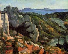 Estaque Yakınlarında Kayalık Manzara, 1882-1885