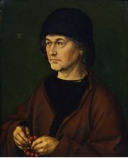 Show Portrait of the Artist's Father, 1490 details