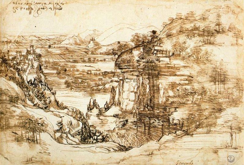 Picture for Arno Landscape, 1473