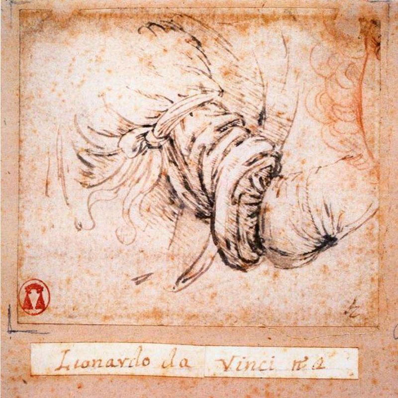 Meryem'e Müjde için kol çalışması, 1472-1475 dolayları resmi