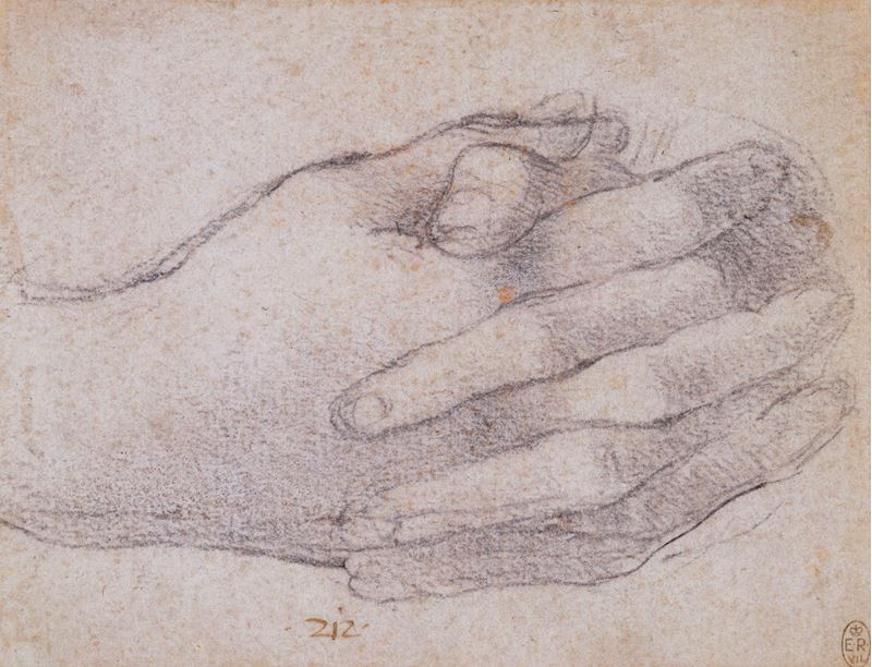 Picture for The hands of St John in the Last Supper, c. 1495
