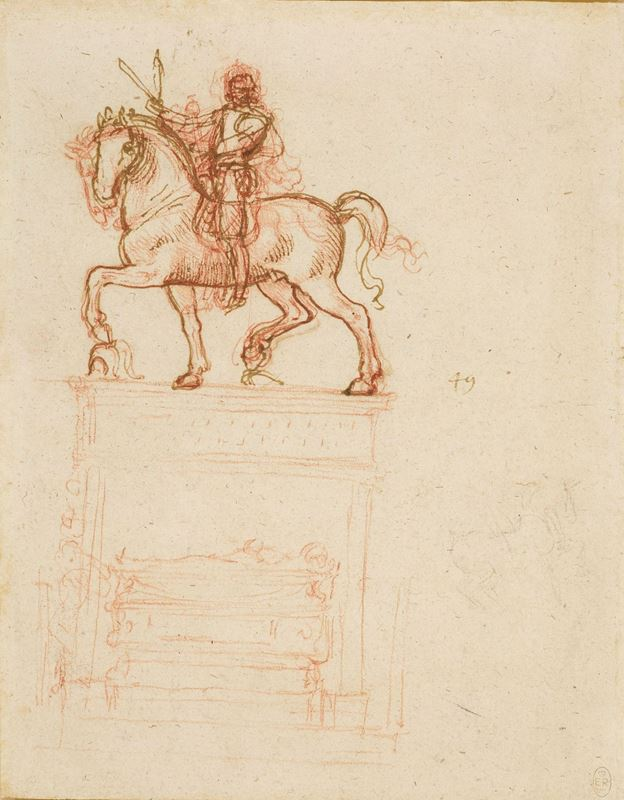 Picture for Study for the Trivulzio Monument, c. 1508-1510