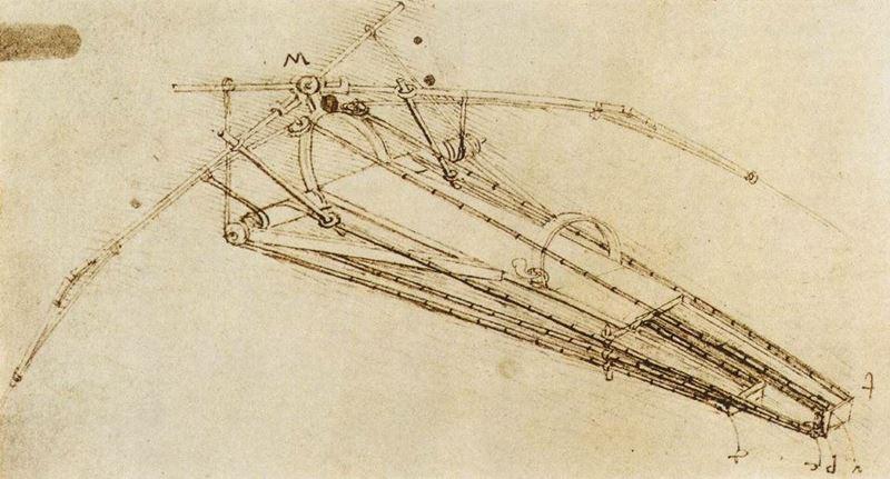 Uçma Makinesi, 1485 dolayları resmi